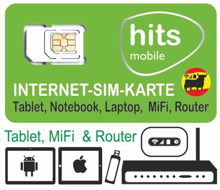 Sim Karte Internet.Internet Sim Hitsmobile