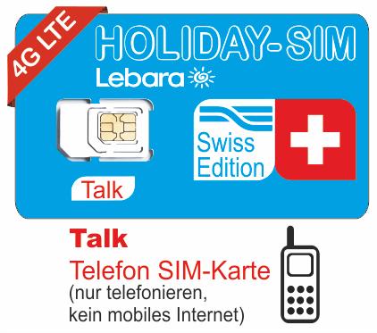 Sim Karte Nur Internet.Talk Lebara Holiday Prepaid Sim Karte